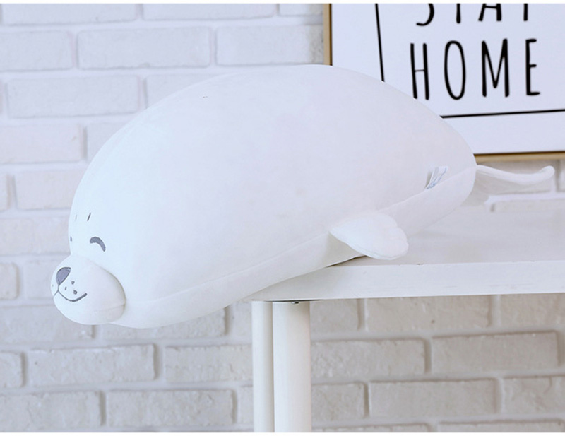 1pcs Cute Soft Animal Sea Lion Doll Baby Sleeping Pillow Marine Animals Seal Plush Toy Kids Stuffed Toys Gift (18)