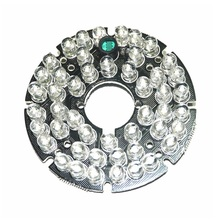 CCTV Accessories infrared light 48 Grain IR LED board for Surveillance cameras night vision diameter 60mm
