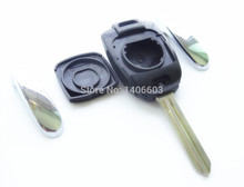 2pcs Fits For Ssang yong Remote Key Shell Case Blank Cover for SSANGYONG aActyon Kyron Rexton Fob