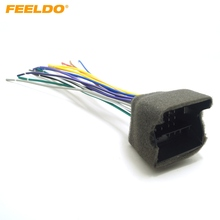 FEELDO 5Pcs Car Stereo Wiring Harness For Audi/BWM/Volkswagen/Mini/Dodge/Installing Aftermarket Stereo #FD-3033(China)