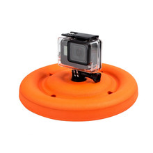 Multi-function Lightweight Floating Disc / Dog Toy Frisbee for Gopro Yi 4K SJCAM Camera Water Sport Camera(China)