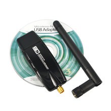 Kebidumei USB 2.0 WiFi Network Lan Card 300 Mbps Wireless 2.4G Wifi Adapter With Antenna Realtek For windows XP Vista 7 MAC OS(China)