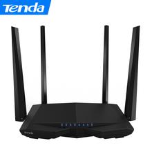 Tenda AC6 1200M Smart AC Wireless WiFi Router Repeater 2.4G/5.0GHz Dual-band Wi-Fi Router Remote APP English / Russian Firmware(China)