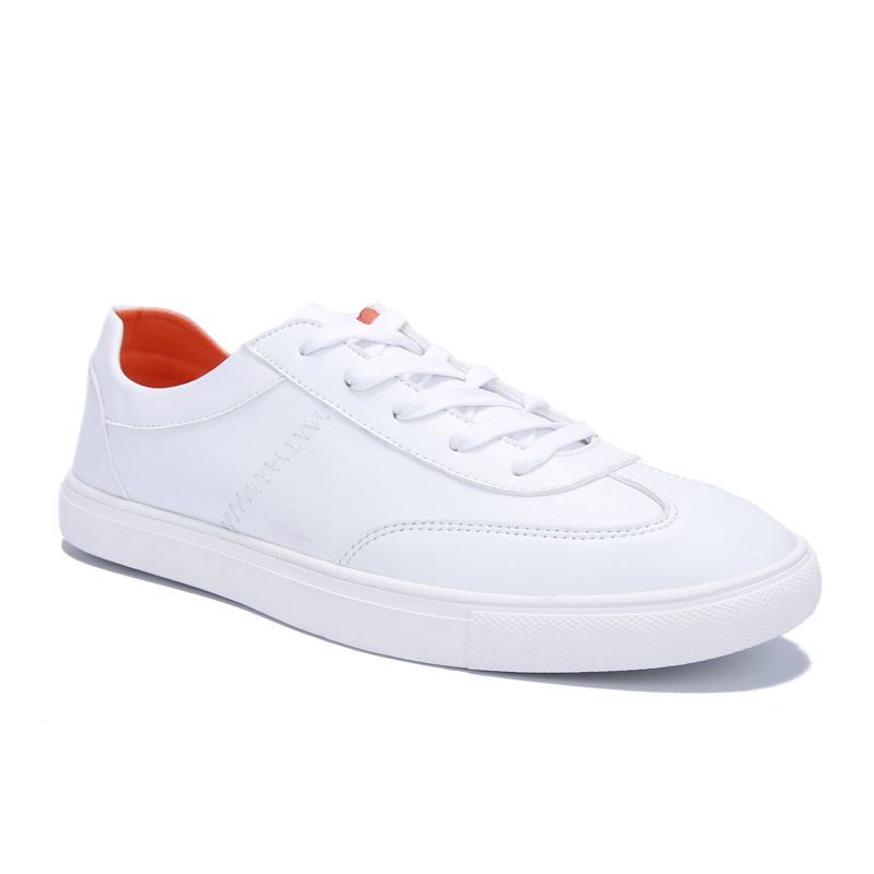 2017 New Mens Flat Canvas Shoes Breathable White Black Casual Shoes Men Fashion Mens Shoes Size 39-44<br><br>Aliexpress