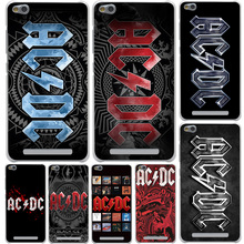 Ac Dc Black ice Heavy Metal Music Band Hard Cover Case for Xiaomi 6 5 5s Plus Redmi 3 4 Pro 4 Prime 4A Note 2 3 Pro 4 4X