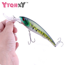 YTQHXY Big Floating Minnow Artificial Plastic Deep Diver Hard Lures 30g 16.5cm Fishing Lure Crankbait Sinking Wobbler YE-287