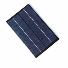 Wholesale 1.9W 5V Solar Cell Small Solar Panel for Battery Charger DIY Polycrystalline Solar Panel 20pcs/lot Free Shipping