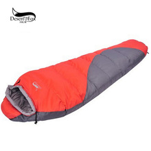 Autumn and winter mummy hollow cotton outdoor sleeping bag double thicker adult midday lock temperature camping sleeping bag