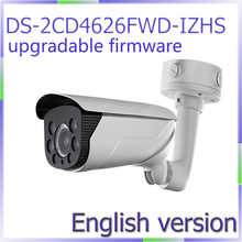 free shipping DS-2CD4626FWD-IZHS English Version 2MP Low Light Smart Camera Motorized lens with Smart Focus built-in heater