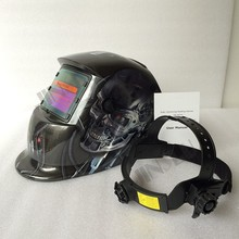 High quality Solar Auto darkening welding helmet/face welding mask/Electric welder mask/caps(China)