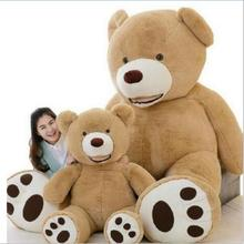 Huge Size 160cm USA Giant Bear Skin Teddy Bear Hull , Super Quality ,Wholesale Price Selling Toys For Girls(China)