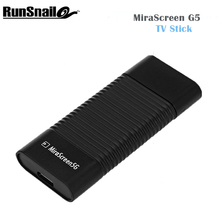 5PCS Newest MiraScreen G5 Wireless Dongle TV Stick WIFI 2.4G HDMI 1080P HD TV Connect PC Smartphone Or IPad To TV Or Projector(China)