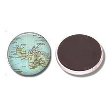 Wailuku Maui Map 30 MM Fridge Magnet State of Hawaii Map Glass Cabochon Magnetic Refrigerator Stickers Note Holder Home Decor(China)