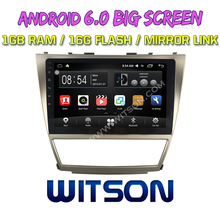 WITSON 10.2 inch BIG SCREEN Android 6.0 CAR GPS for TOYOTA CLASSIC CAMRY GPS RADIO Quad core 1GB RAM+DVR/WIFI+DSP+OBD+DAB+3G(China)