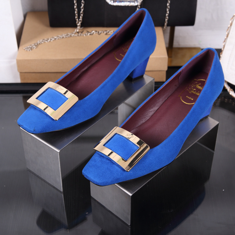 2016 autumn winters coarse root package cloth with leather shoes sheepskin grind arenaceous light mouth RV womens shoes<br><br>Aliexpress