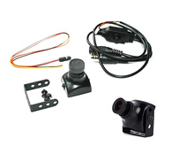 "1/3"" Sony 600TVL CCD HS1177 Mini FPV Camera 2.1mm 2.5mm 2.8mm 3.6mm Lens QAV210 180 day Version(China)"