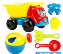 Bucket car set shovel sand playing tool game toy for children