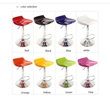 travel agency Registration Desk Chair purple yellow green pink black lift stool retail and wholesale new chair design(China)