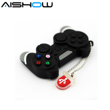 Game Controllers USB Flash Drive 64GB Pen Drive 32GB Pendrive 16GB 8GB 4GB 2016 New PSP Console Flash Card Cartoon Memory Stisk(China)