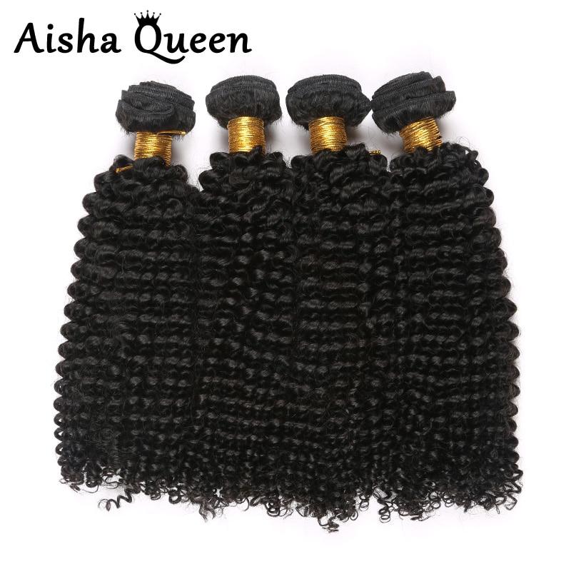 Aisha Queen Hair Products 10A Malaysian Kinky Curly Virgin Hair 4 Bundle Deals Beauty Hair Afro Kinky Curly Malaysian Curly Hair<br><br>Aliexpress