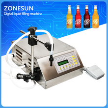 New Digital Control Pump Liquid Filling Machine With Tools Numerical Perfume