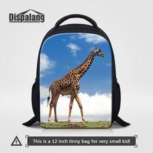 70645de4080 Dispalang Animal Kids 12 Inch Backpacks Giraffe Baby Mini Schoolbag  Kindergarten Backpack Cute Children School Bags