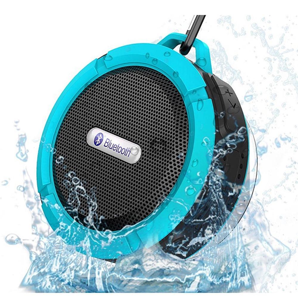 SUNNYLINK Portable Outdoor Waterproof bluetooth speaker Wireless Car Audio Bluetooth Suction Cup Speaker , With BT+TF+Handsfree