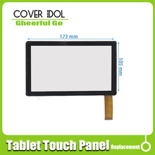 "DLW-CPT-009 7"" capacitive touch screen digitizer panel for All winner A13 Q88 tablet pc 30pins on connector(China)"