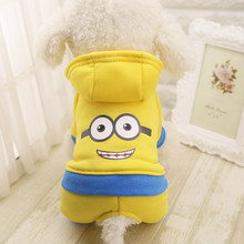 New Dog Hoodies Warm Winter Dog Clothes Fleece Dogs Costume Cute Pet Coat Jacket Autumn Jumpsuit Clothing for Puppy Dogs