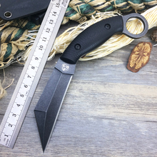 Newest Custom Jungle Fixed Blade Knife,DC53 Steel Outdoor Tactical Knife Tool,Survival Straight Knives,Gift Hunting Knives Tools
