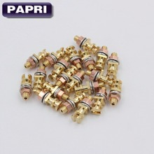 20Pcs  24K Pure copper  Plated gold Turrets Posts Lugs FR Audio HIFI DIY Tube Guitar Amplifier Tag Board