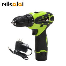 New 12v 16.8v Two Speed Rechargeable Lithium Battery Waterproof Hand Drill Electric Drill Electric screwdriver power tool(China)