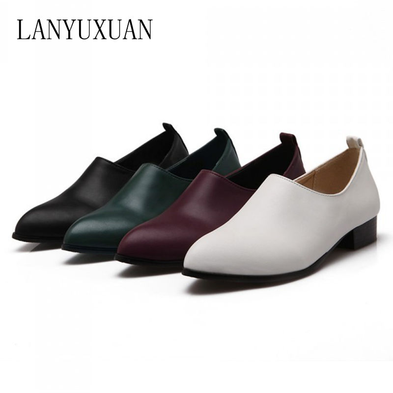 2017 Special Offer Oxford Shoes For Women Plus Size Ladies Shoes Sexy Women Falts Sapato Feminino Style Chaussure Femme 1060 <br>