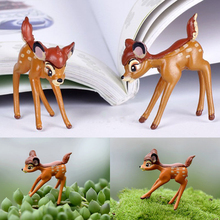 New Fashion Lovely Deer Miniature Figurine Garden Ornament Plant Pot Fairy Dollhouse Craft