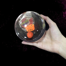 AIBOULLY Shoot Basketball Led Music Palm Basketball Toys Children Funny Novelty Toys Anti Stress Fidget Toy y-2006
