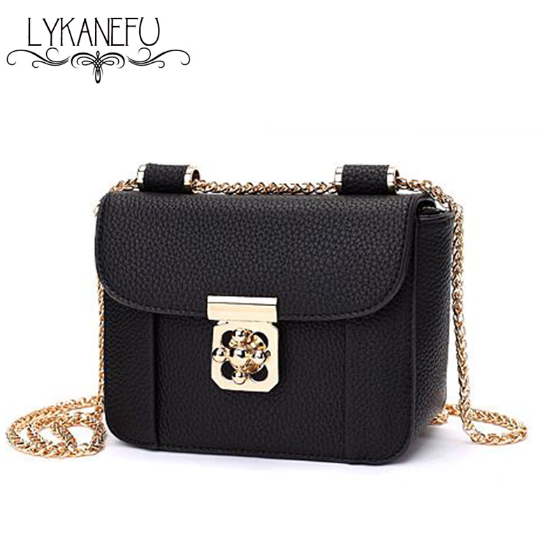 New 2017 Summer Small Cross Body Bag Ladies Handbags and Purses for Women Messenger Bags Designer Chain Strap Sac a Main<br><br>Aliexpress