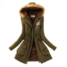 2017 New Winter Down Jacket For Women Thick Cotton Winter Coat Parka Fashion Women's Winter Coat Outwear(China)
