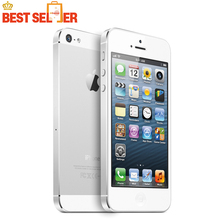 "iPhone 5 Original Unlocked Apple iPhone 5 Cheap Mobile Phone 4.0"" Dual Core 8MP WIFI GPS ios 9 Multi-language supported(China)"