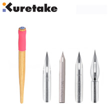 ZIG Paint Brush Holder Kuretake Comic Drawing Pen Nibs for Manga School G-Pen Maru Saji Calligraphy Japan