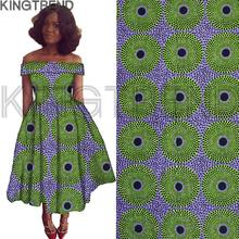 best quality! veritable dutch real wax hollandais wax ,african printed fabric 100% cotton Nigeria style african fabric H17071901(China)