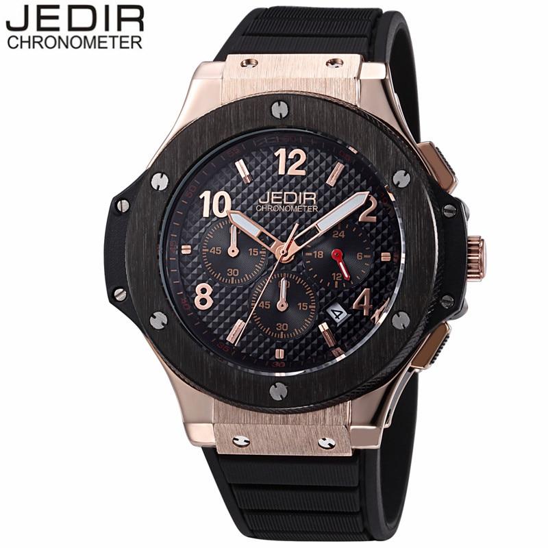 JEDIR Military Sport Watches For Men Rubber Watchband Watch Men Chronograph Quartz Wristwatch Waterproof Clock relogio masculino<br><br>Aliexpress