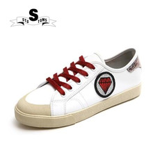 STG TOMS S skateboarding Shoes Glitter Leather Do Old Dirty White Sneakers  Women. US  26.49   Pair Free Shipping 1b03597d0516