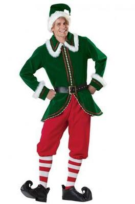 CD-458 103 Santa Claus clothing adult male high-grade thick clothing high-end Christmas clothes