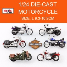 Freeshipping Bburago 2017 Sportster Metal Model Motorcycles 1:24 Diecast Alloy Sport Bike Model Toy New in Box for Collection