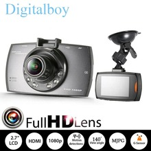 Full HD Car Camera Recorder G30 2.7 inch Car Dvr Novatek 96220 140 Degree Wide Angle Registrator Night Vision G-Sensor Dash Cam