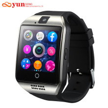 2017 New Q18 Bluetooth Smart Watch Support SIM GSM TF Card camera with Touch Screen For Android/IOS Mobile phone Apro DZ09 GT08