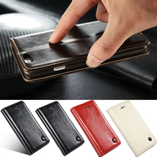 Original Phone Cases For Apple iPhone 5s 5 Luxury Genuine Leather Magnetic Auto Flip Card Holder Case Cover Coque For iPhone SE