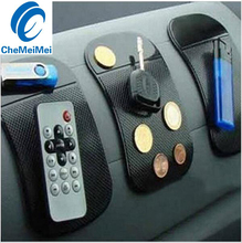2Pcs Non Slip Car Interior Accessories Silica Gel Magic Sticky Pad Cellphone Anti Slip Mat for Mobile Phone PDA mp3 mp4