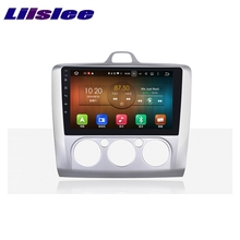 LiisLee Car Multimedia Player GPS Radio Navigation For Ford For Focus 2004~2011 Original Factory Style Audio NAVI(China)
