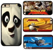 0856 Kung Fu Panda cell phone bags case cover for iphone 4S 5S 5C SE 6S 7 PLUS Samsung S3 S4 S5 S6 S7 IPOD Touch 4 5
